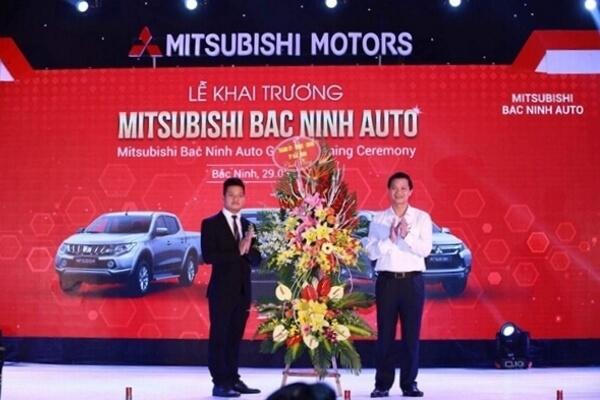 iHappy thiết kế web cho showroom ô tô Mitsubishi Dương Tuấn Bắc Ninh - Lý Thái Tổ