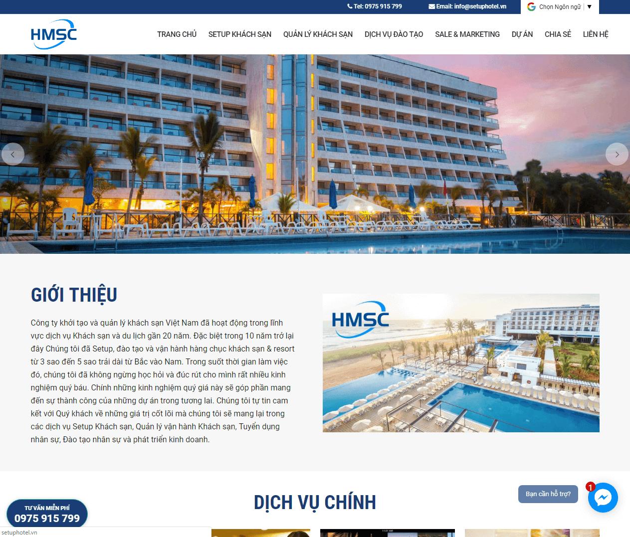 Công ty Setup Khách sạn