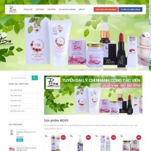 Thiết kế website bán hàng nhỏ