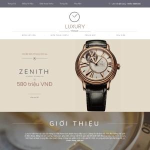Shop trang sức cao cấp Luxury