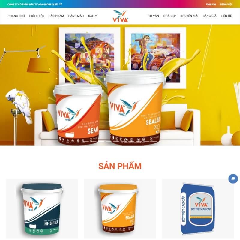 Thiết kế website công ty cao cấp