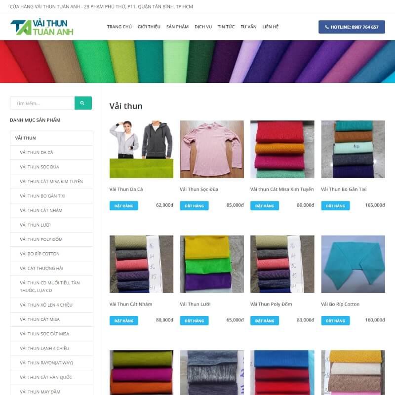 Công ty dệt vải Tuấn Anh