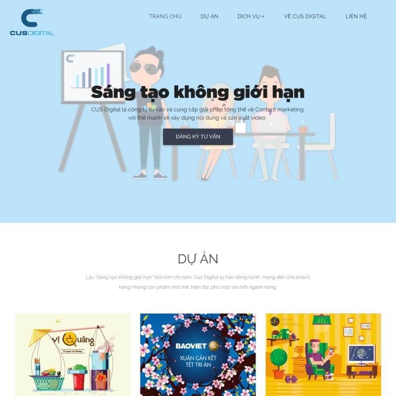 Thiết kế website đa phương tiện