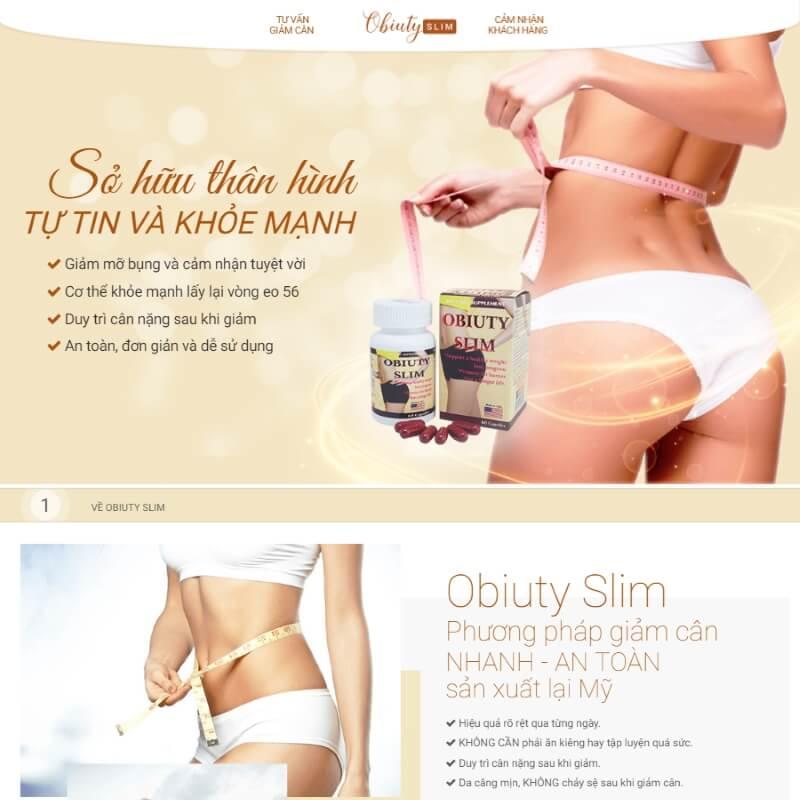 Thiết kế website giới thiệu đơn giản